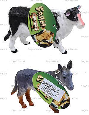 Резиновые игрушки «Домашние животные», D26216