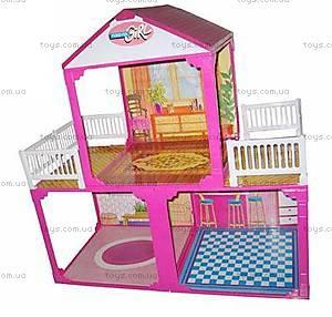 Домик 2-х этажный,с мебелью, 6982A, купить