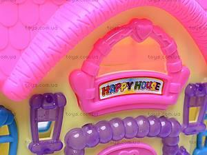 Домик для куклы в сумке, 3358F, игрушки