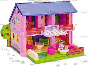 Домик для кукол с мебелью, 25400
