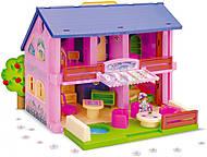 Домик для кукол с мебелью, 25400, игрушки