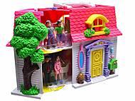 Домик для кукол, со звонком, 08963, фото