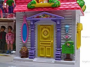 Домик для кукол, со звонком, 08963, магазин игрушек