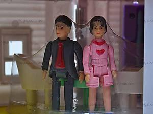 Домик для кукол, со звонком, 08963, toys.com.ua