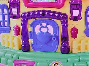 Домик игрушечный для кукол с мебелью, BS899-12X, игрушки