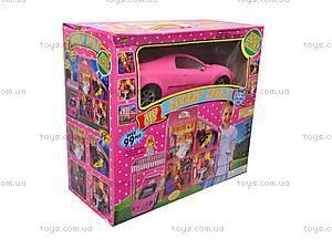Домик куклы с машиной, 6981