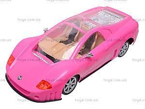 Домик куклы с машиной, 6981, toys.com.ua