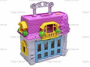 Домик с куколками и мебелью, 08320D, фото