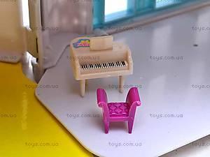 Домик с куколками и мебелью, 08320D, игрушки