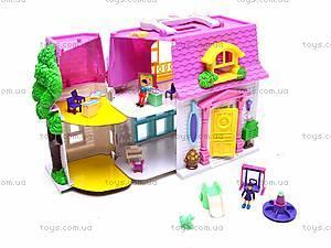 Домик с куколками и мебелью, 08320D