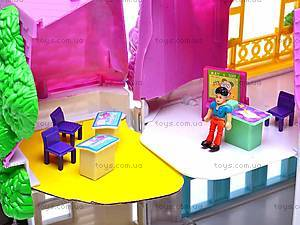 Домик с куколками и мебелью, 08320D, детские игрушки