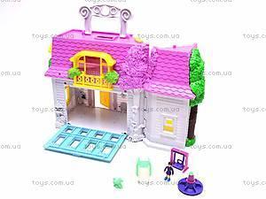 Домик с куколками и мебелью, 08320D, toys.com.ua