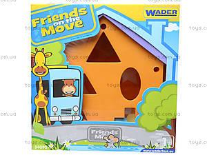 Домик-сортер из серии Friends on the move, 54090, фото
