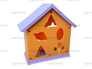 Домик-сортер из серии Friends on the move, 54090, детские игрушки