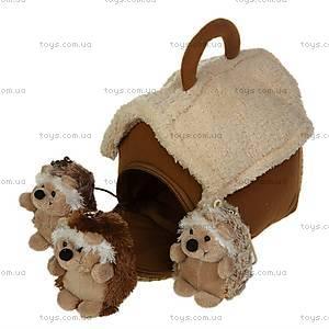 Домик-сумка с ежиками, 21-915051