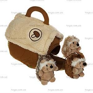 Домик-сумка с ежиками, 21-915051, фото