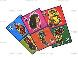 Домино детское «Весёлые звери», 0762, фото