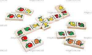 Домино «Фрукты-ягоды», 5555-5