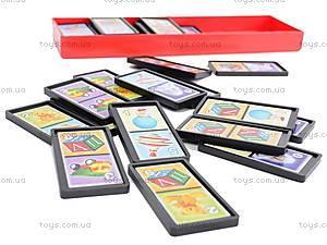 Домино «Любимые игрушки», в футляре, 00013, детские игрушки