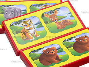 Детское домино «Зоопарк», 3305, цена