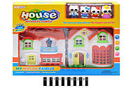 Домик для куклы с фигурками, 8133-1, фото