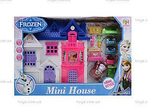 Игрушечный домик для кукол Frozen, 901-76, фото