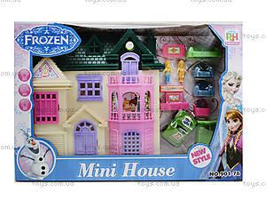 Игрушечный домик для кукол Frozen, 901-76, игрушки