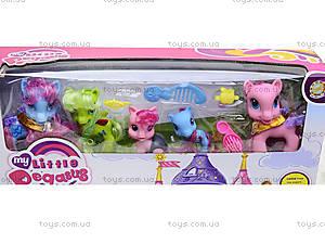 Игрушечный домик для пони с аксессуарами, 6628A-3, купить