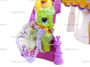 Игрушечный замок для пони с аксессуарами, 6628A-2, игрушки