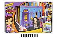 Домик - конструктор для куклы, 5002, фото