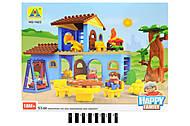 Домик - конструктор серии «Happy farm», HG-1423, фото