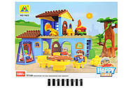 Домик - конструктор серии «Happy farm», HG-1423