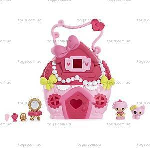 Кукольный домик Крошки Lalaloopsy «Жемчужный коттедж Блестинки», 532460