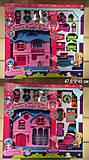 Домик «Little Charmers» с мебелью и куклами, 60221AB