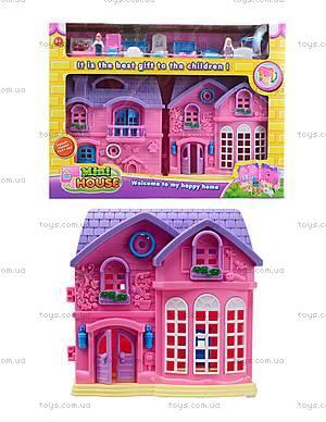 Домик с куклами и мебелью, 805A