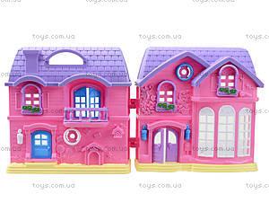 Домик с куклами и мебелью, 805A, игрушки