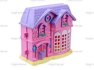 Домик с куклами и мебелью, 805A, магазин игрушек