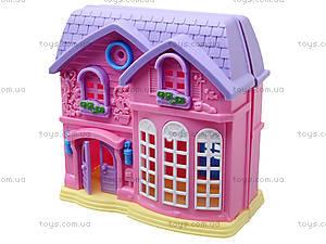 Домик с куклами и мебелью, 805A, toys