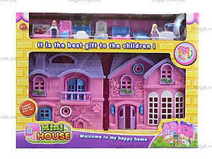 Домик с куклами и мебелью, 805A, іграшки