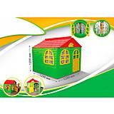 Домик со шторками «Фламинго» зеленый, 025503, игрушки