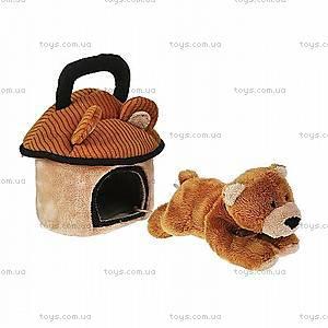 Домик-сумка с медвежонком, 21-904902-1