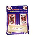 Домино + 2 колоды карт, IGR46, отзывы