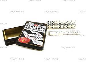 Настольная игра «Домино», в железной коробке, 3896-14