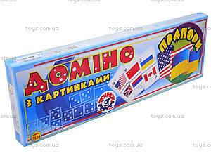 Домино «Флаги» для детей, 2636, отзывы