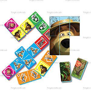 Домино развивающее «Маша и Медведь», VT2102-06, игрушки