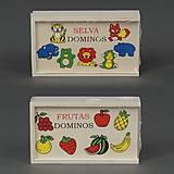 Домино с фруктами или животными, 779-620