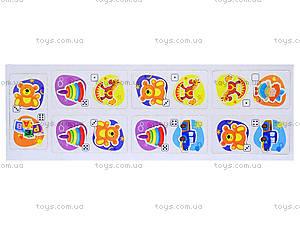 Детское домино «Игрушки», 677, детские игрушки
