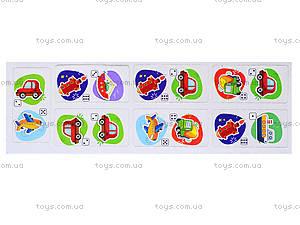 Детское домино «Транспорт мира», 678, детские игрушки