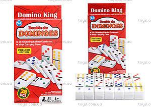 Игровой набор домино в коробке, 3896-18