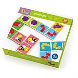 Домино Viga Toys «Насекомые», 50127, фото